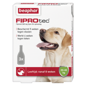 Fiprotec Spot-On hond 20-40kg 3 pipetten