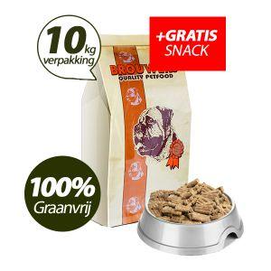 Graanvrij - Superieur (PREMIUM) Geperste Brokken Kip & Aardappel - 10 kg