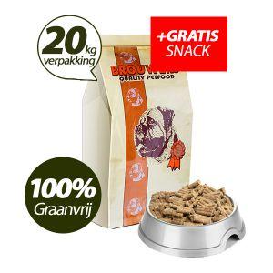 Graanvrij - Superieur (PREMIUM) Geperste Brokken Kip & Aardappel - 20 kg