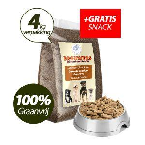 Graanvrij - Superieur (PREMIUM) Geperste Brokken Kip & Aardappel - 4 kg