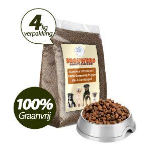 Graanvrij - Superieur (PREMIUM) Puppy Kip & Aardappel - 4 kg