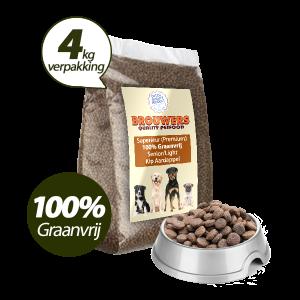 Graanvrij - Superieur (Premium) Senior/Light Kip & Aardappel - 4 kg