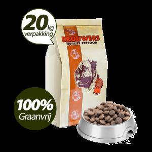 Graanvrij - Superieur (Premium) Senior/Light Kip & Aardappel - 20 kg