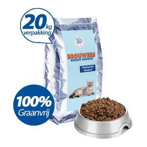 Premium Kat Graanvrij Zalm - 20 kg (= 2 x 10 kg)
