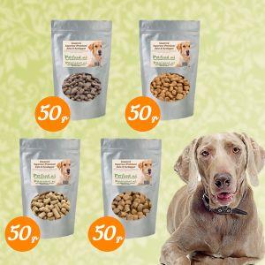 Senior & Light Hondenvoer - Proefpakketje - 4 Samples naar keuze € 1,99 thuisbezorgd!