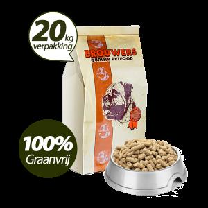 Graanvrij - Superieur (Premium) Geperste Brokken Eend & Aardappel - 20 kg