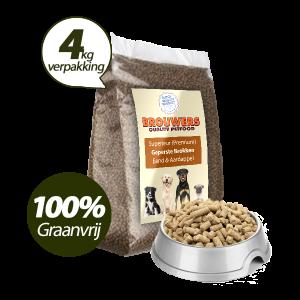 Graanvrij - Superieur (Premium) Geperste Brokken Eend & Aardappel - 4 kg