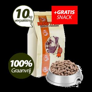 Graanvrij - Superieur (Premium) Geperste Brokken Lam & Aardappel - 10 kg + GRATIS SNACK