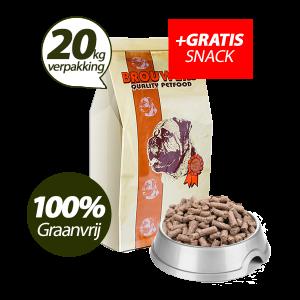 Graanvrij - Superieur (Premium) Geperste Brokken Lam & Aardappel - 20 kg + GRATIS SNACK