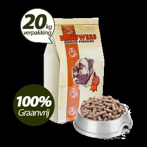Graanvrij - Superieur (Premium) Geperste Brokken Lam & Aardappel - 20 kg