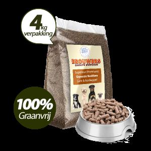 Graanvrij - Superieur (Premium) Geperste Brokken Lam & Aardappel - 4 kg