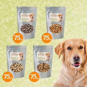 Volwassen Hondenvoer - Proefpakketje - 4 Samples naar keuze € 1,99 thuisbezorgd!