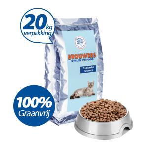 Premium Kat Graanvrij Kip - 20 kg (= 2 x 10kg)