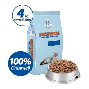 Premium Kat Graanvrij Kip - 4 kg