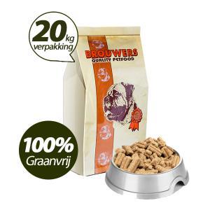 Graanvrij - Superieur (PREMIUM) Geperste Brokken Zalm en Aardappel - 20 KG