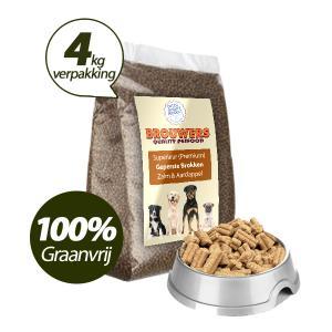 Graanvrij - Superieur (PREMIUM) Geperste Brokken Zalm en Aardappel - 4 KG