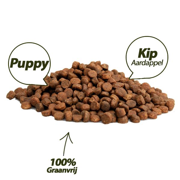 Graanvrij - Puppy Brokken